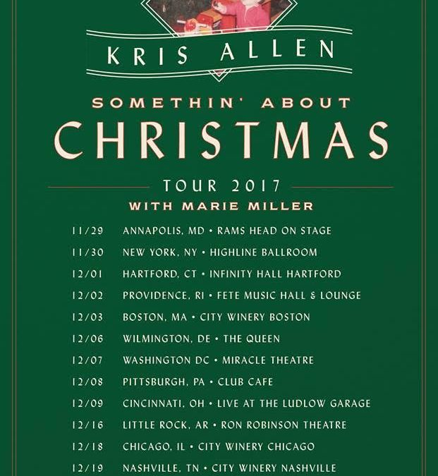 Marie Miller On Christmas Tour With American Idol Winner Kris Allen